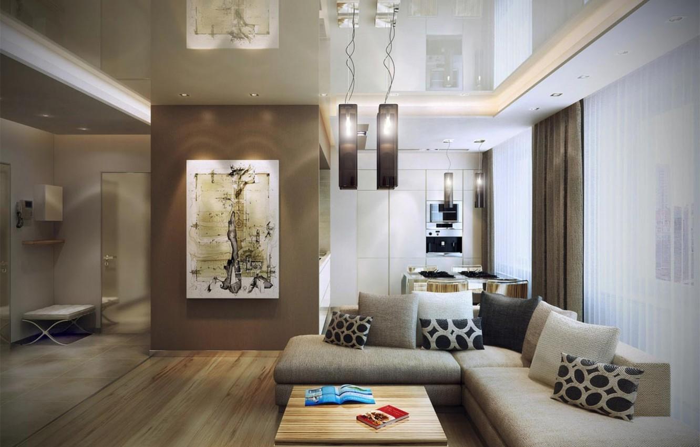 Photo wallpaper house, room, interior
