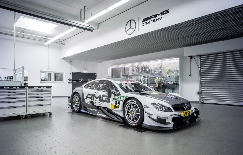 Photo wallpaper Mercedes-Benz, Mercedes, AMG, DTM, DTM, C204, 2015, C-Class