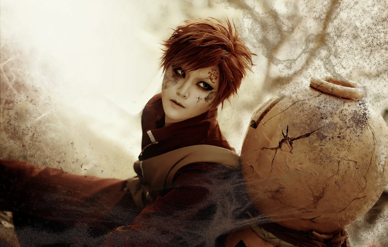 Wallpaper Sand Naruto Cosplay Gaara Clamp90357 Images For