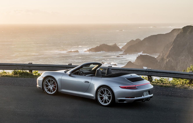 Photo wallpaper 911, Porsche, convertible, Porsche, Carrera, Cabriolet, Carrera