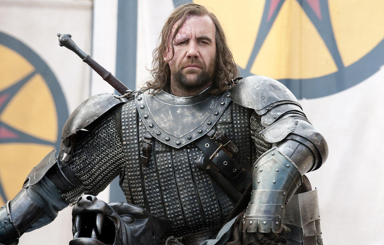 Photo wallpaper armor, warrior, dog, Game of Thrones, Game of thrones, The Hound, Sandor Clegane