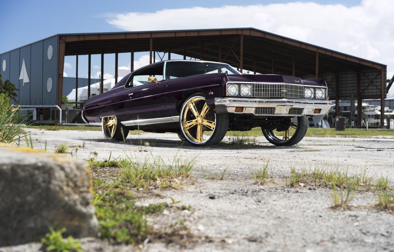 Photo wallpaper Chevrolet, Impala, Dub, Malice