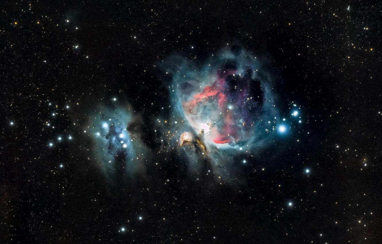 Photo wallpaper space, nebula, Nebula, Orion