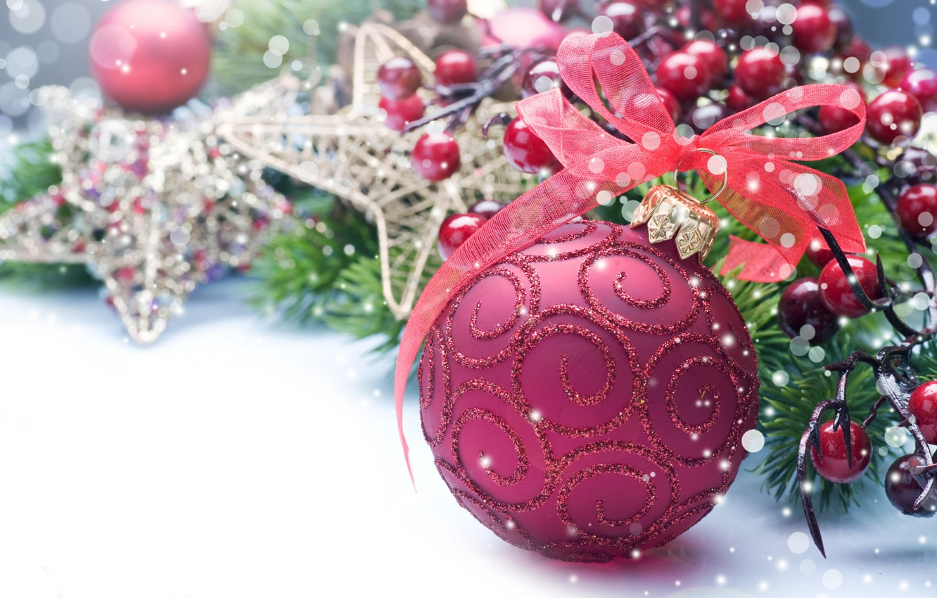 Photo wallpaper holiday, toys, new year, ball, tape, the scenery, happy new year, christmas decoration, Christmas Wallpaper, …