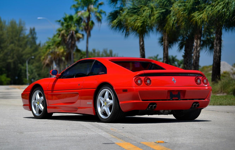 Photo wallpaper Ferrari, supercar, Ferrari, GTS, F355, 1994