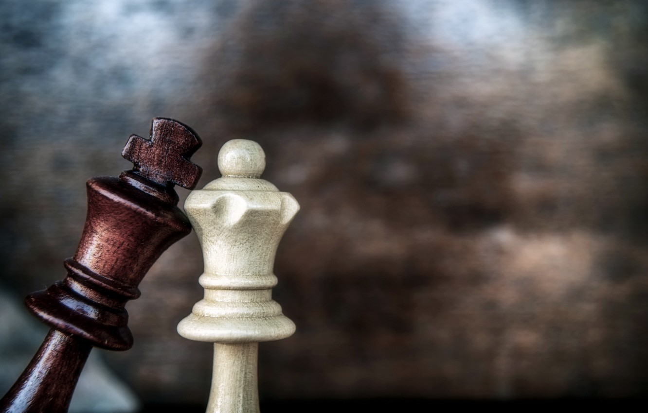 Chess Game Love King Queen Hd Wallpaper Eazy Wallpapers