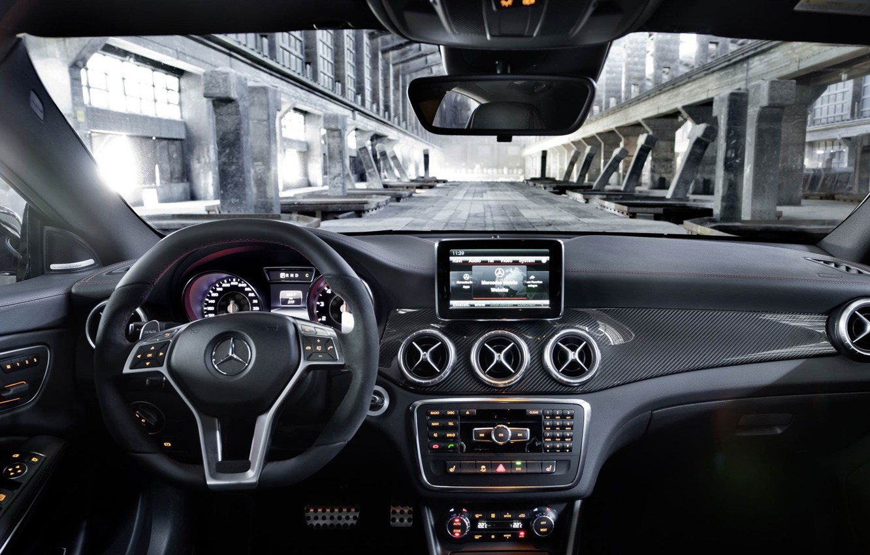Photo wallpaper Mercedes-Benz, AMG, CLA45