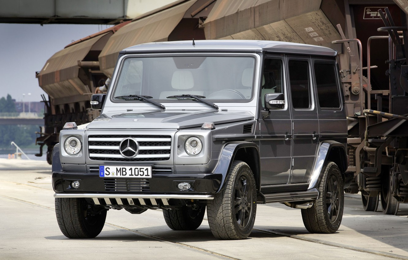 Photo wallpaper jeep, g, mb g brabus, mersedes g