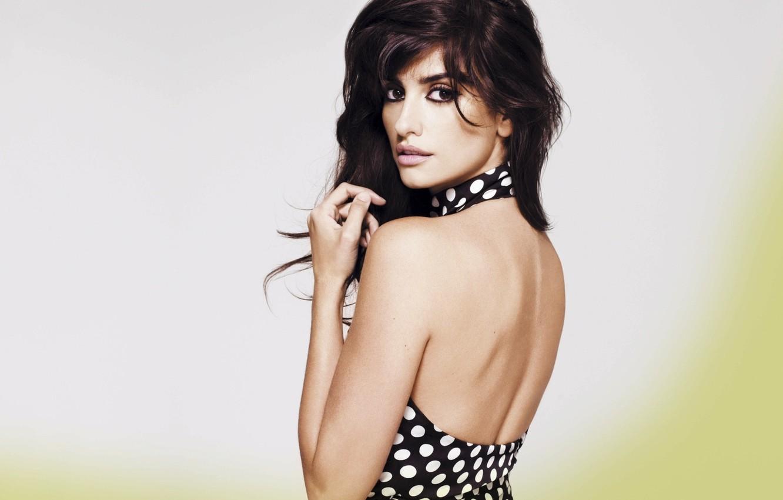 Photo wallpaper model, Penelope Cruz, Spanish actress