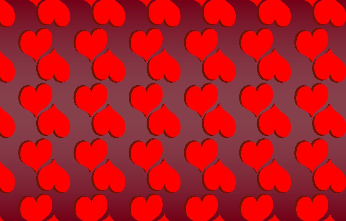 Photo wallpaper love, red, background, holiday, Wallpaper, pattern, color, texture, Heart