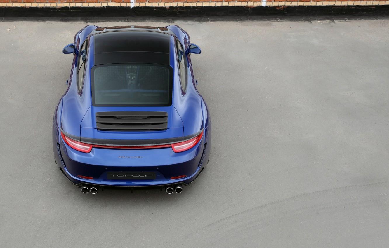 Photo wallpaper Porsche, 2013, Carrera Stinger, 911 991, Tuned by TopCar