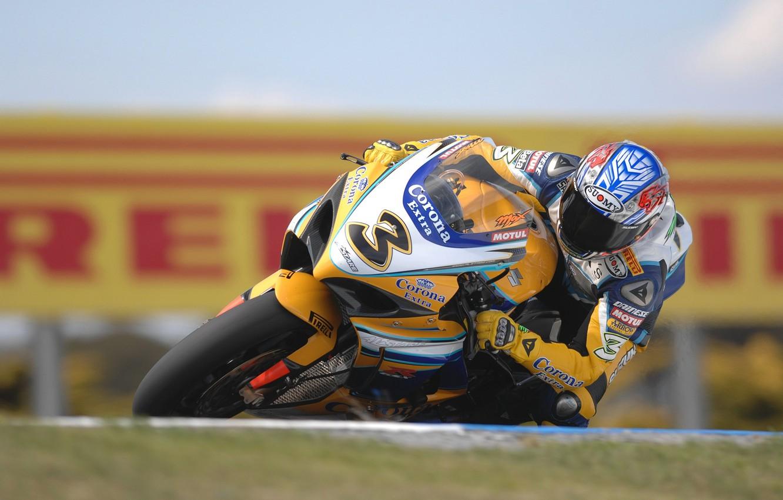 Photo wallpaper Moto, race, suzuki, corona