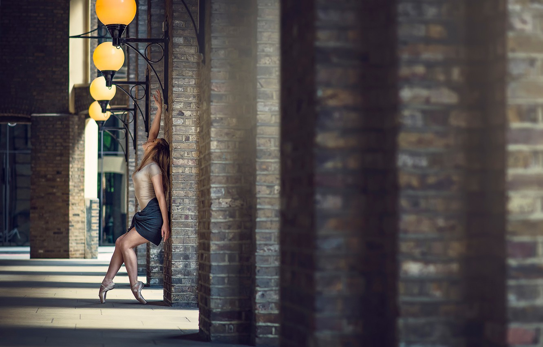 Photo wallpaper passion, dance, legs, ballerina, Pointe shoes, Marine Fauvet