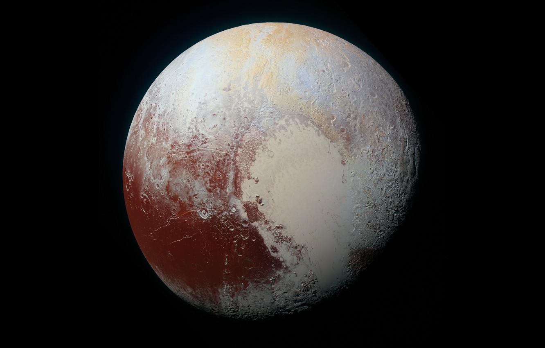 Photo wallpaper Planet, Pluto, NASA, Planet, NASA, Pluto