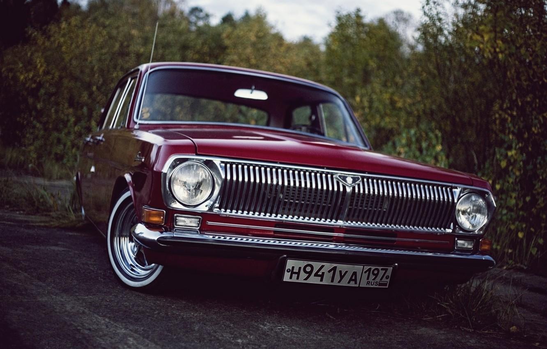 Photo wallpaper gaz, Volga, Volga, low classic, GAZ-24