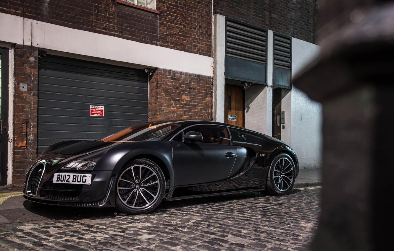 Photo wallpaper Bugatti, Veyron, Carbon, Street, Super Sport, Supercar