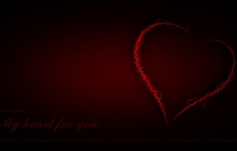 Photo wallpaper wallpaper, Heart, kawal, kanwaljeet singh, download, Red heart, kawaljit, My heart