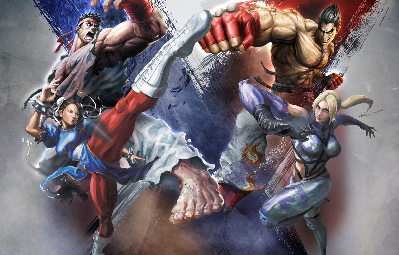 Wallpaper Fighting Street Fighter X Tekken Pastgen Images For