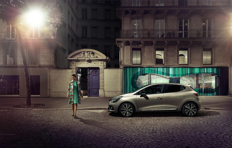 Photo wallpaper Renault, Clio, Reno, 2014, Clio, Initiale Paris