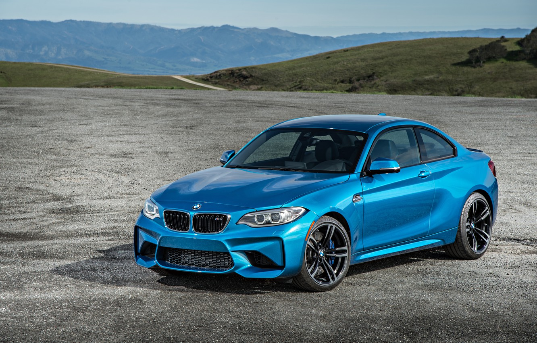Photo wallpaper BMW, horizon, Coupe