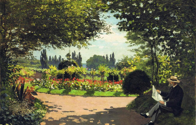 Wallpaper Park Stay Picture Garden Claude Monet Images