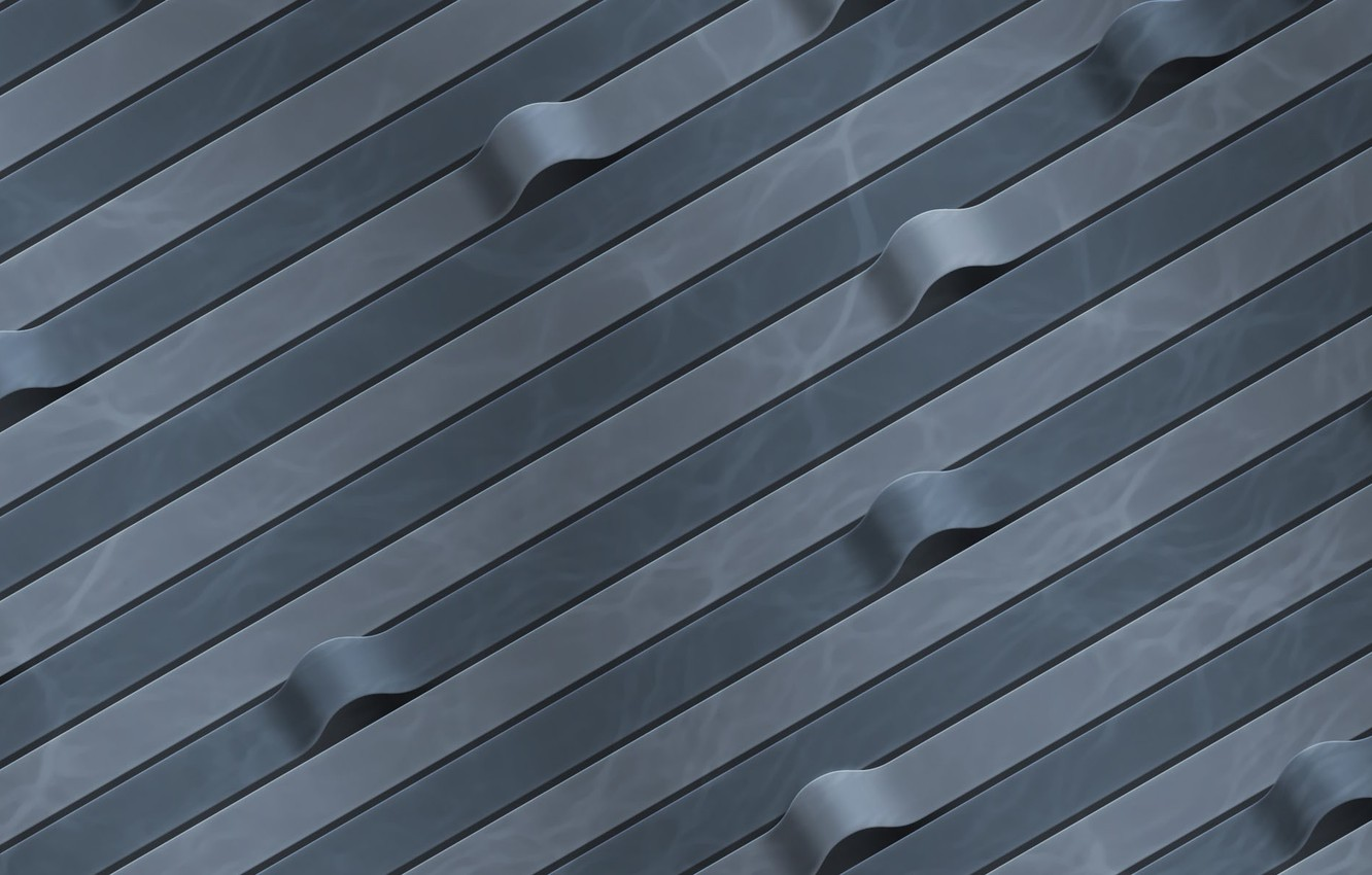 Photo wallpaper tape, curves, Grey