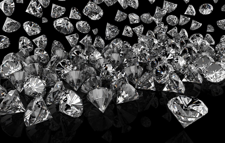 Wallpaper Diamonds Glow Brilliant Sparkle Glitter