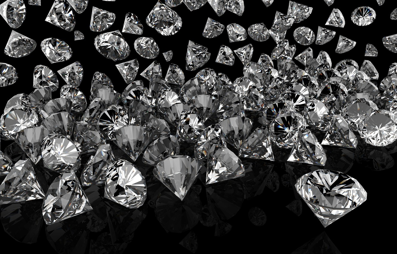 Wallpaper Sparkle Glitter Diamonds Glow Brilliant Jem