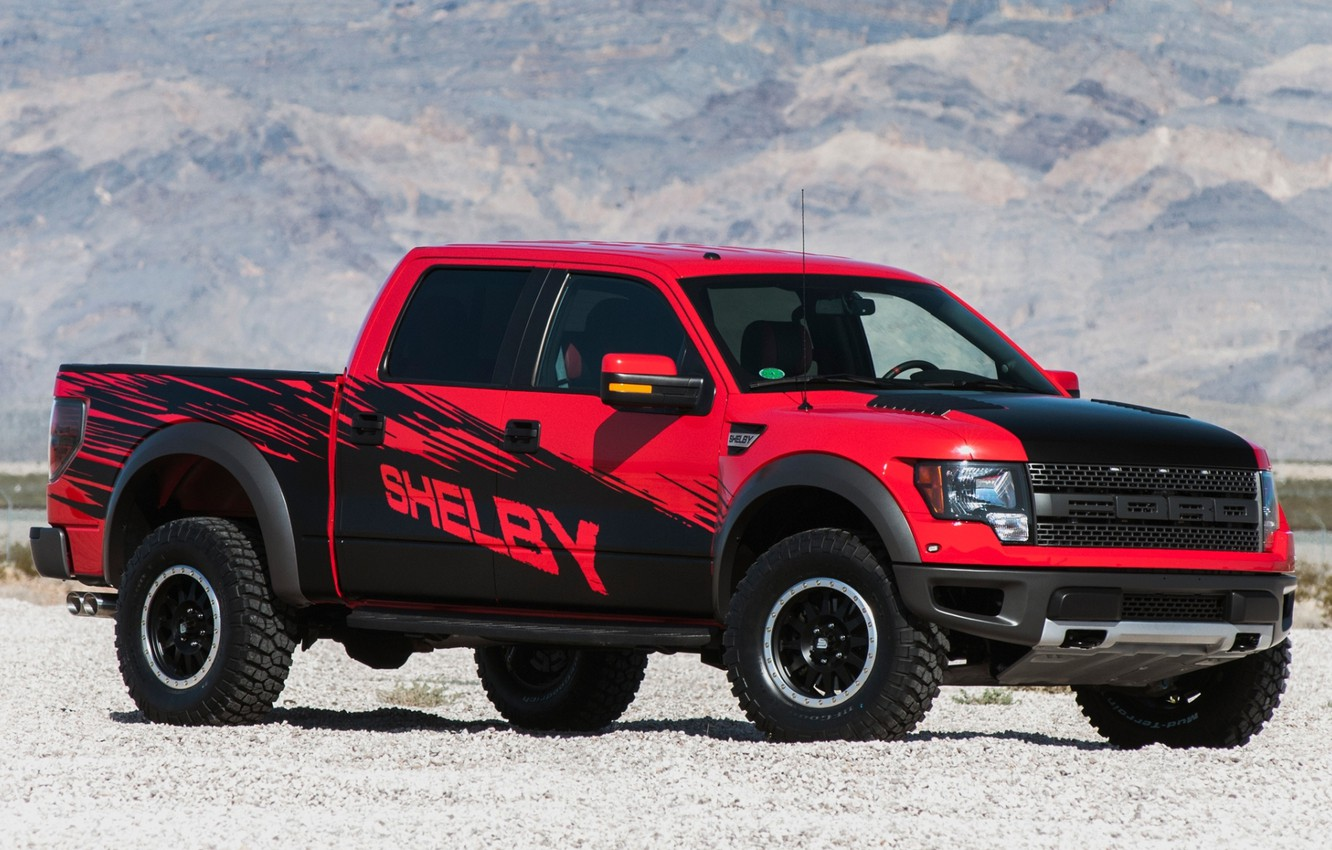 Photo wallpaper Ford, Shelby, Ford, Raptor, Raptor, pickup, the front, F-150, Shelby, F-150