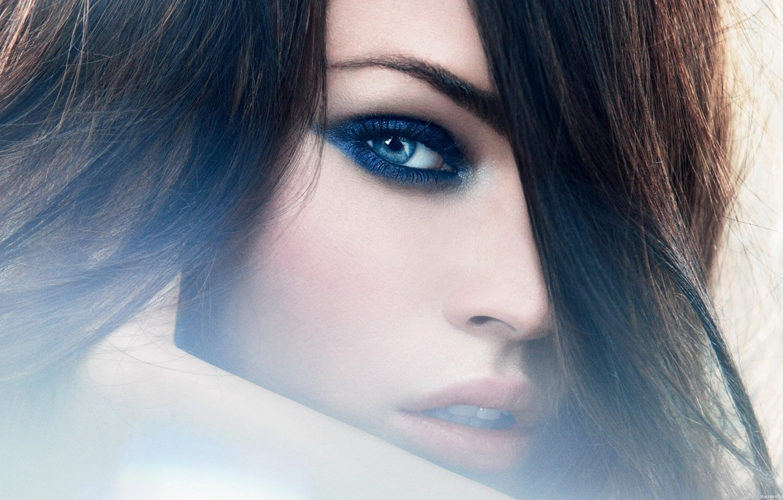 Photo wallpaper look, girl, face, Megan Fox, model, hair, actress, chic