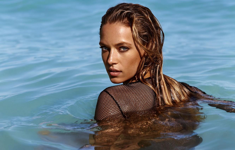 Wallpaper Sea Eyes Model Beauty Hair Look Hannah Ferguson
