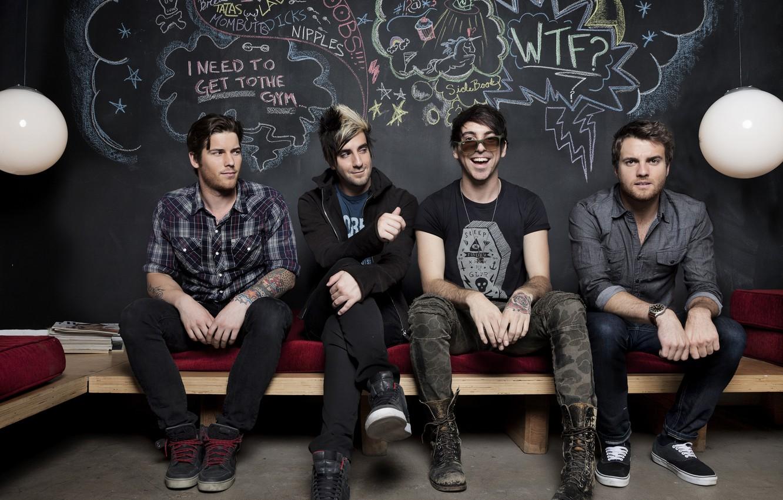 Photo wallpaper Pop Punk, Zack Merrick, All Time Low, Jack Barakat, Rian Dawson, Alex Gaskarth