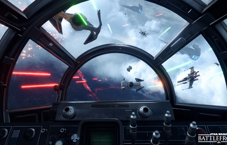 Photo wallpaper star wars, cabin, star wars, battle, the battle, the rebels, Electronic Arts, dice, FPS, Frostbite …