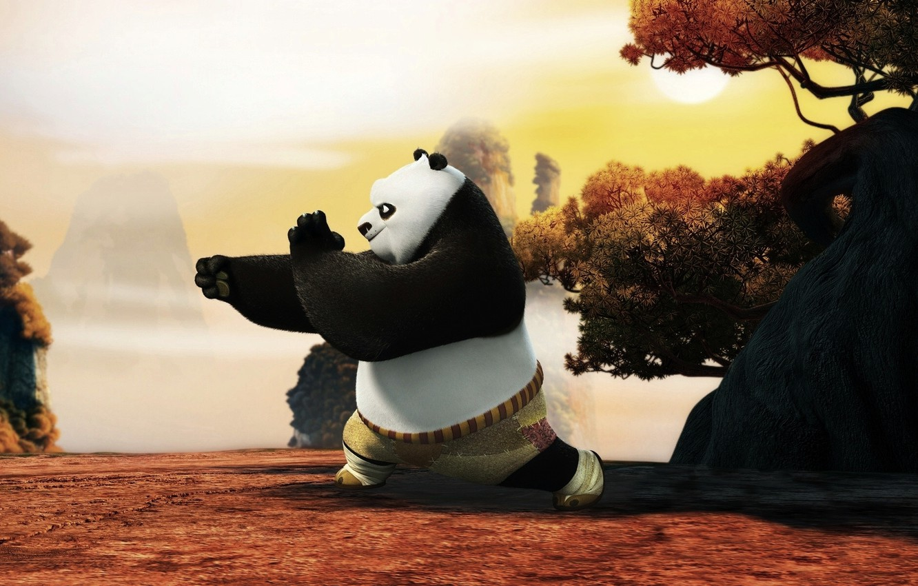 Wallpaper Panda Cartoon Kung Fu Panda Kung Fu Panda Images For