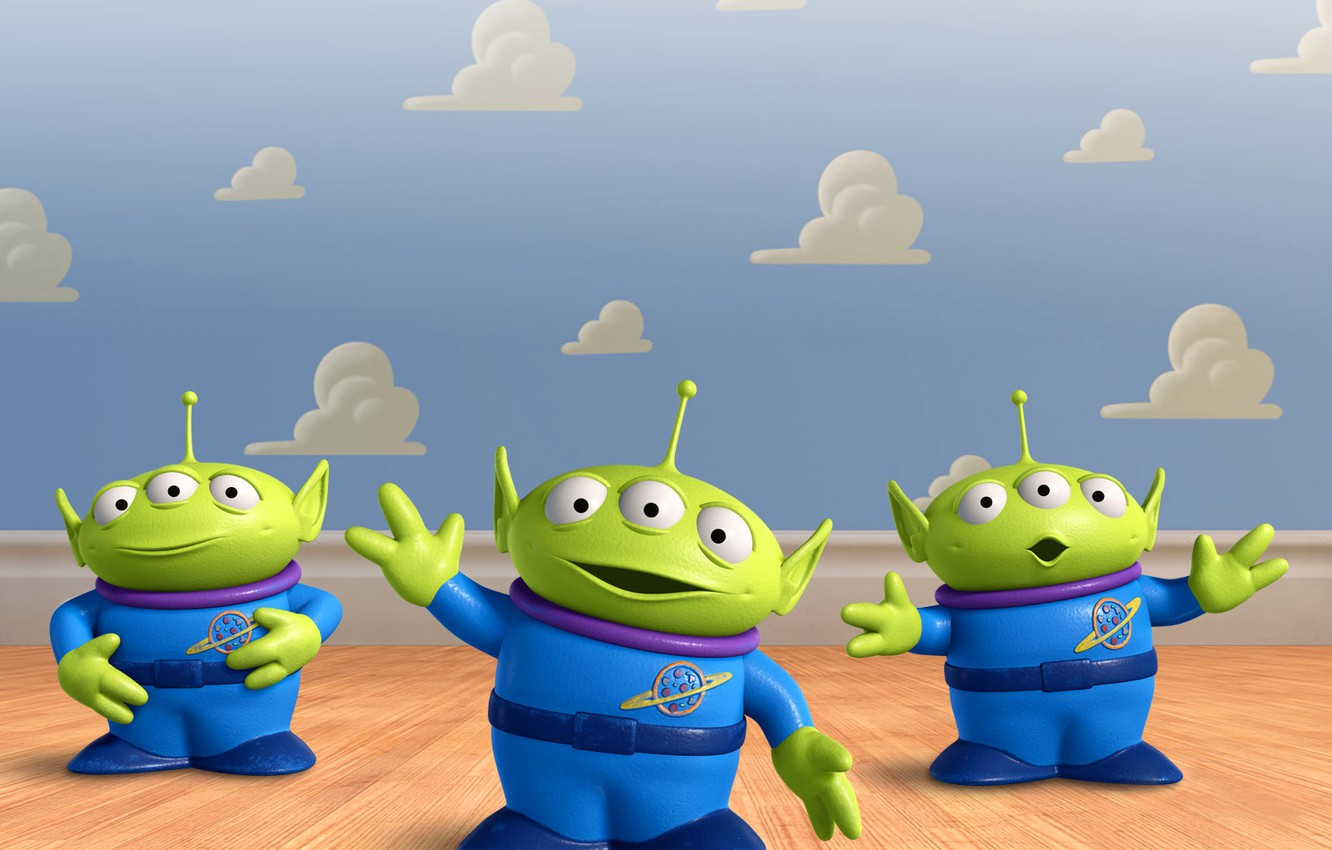 Wallpaper Aliens Claw Toy Story Toystory The Great Escape Images