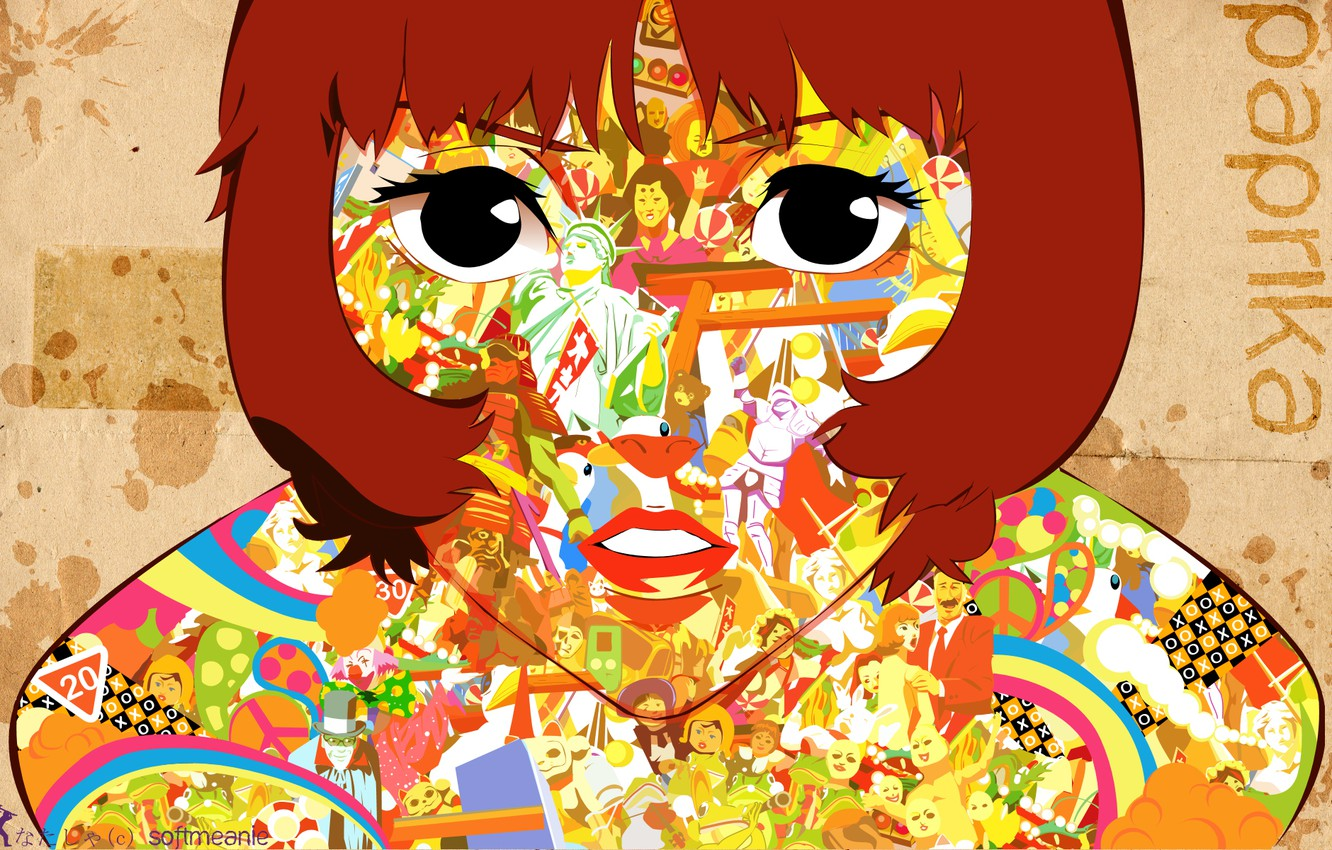 Photo wallpaper girl, red hair, Peppers, softmeanie
