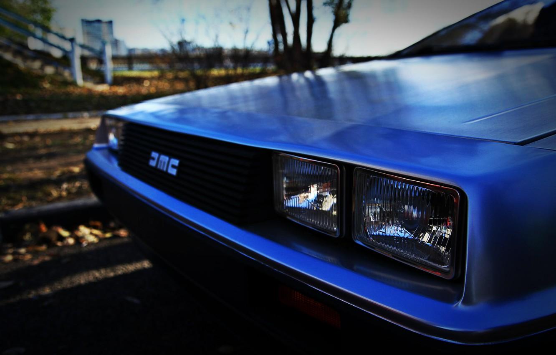 Photo wallpaper DeLorean, DMC