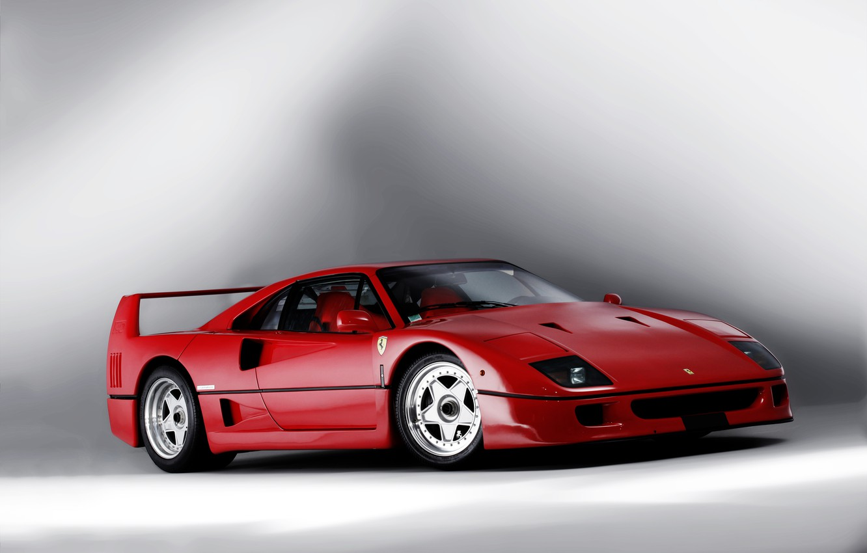 Photo wallpaper background, Ferrari, supercar, F40, Ferrari, 1989