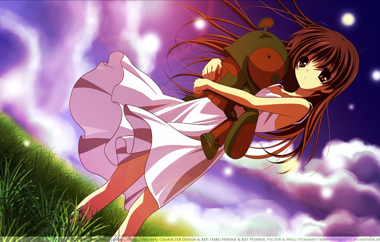 Wallpaper Girl Robot Clannad Clannad Images For Desktop