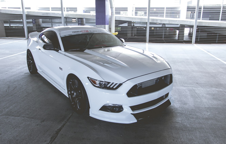 Photo wallpaper Mustang, Ford, Drift, Formula, 5.0