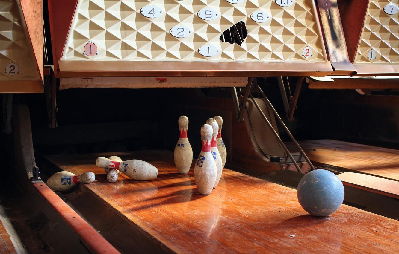 Photo wallpaper background, sport, bowling