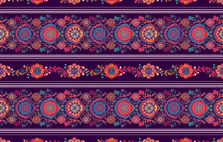 Photo wallpaper purple, strip, pattern, ornament