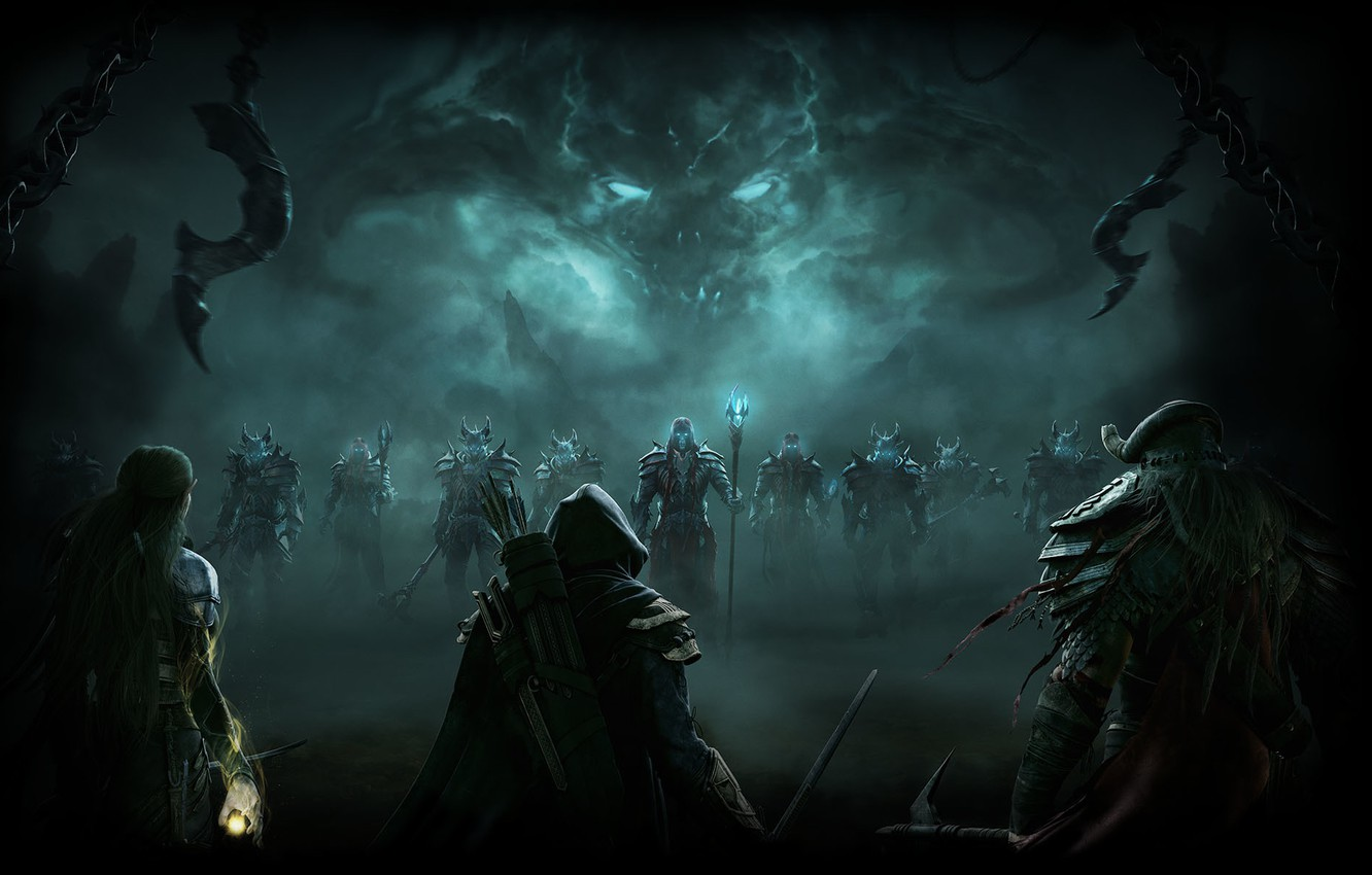 Wallpaper The Elder Scrolls Online Tes Online The Elder Scrolls