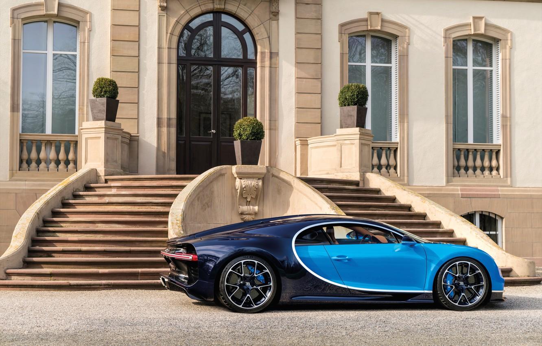 Photo wallpaper Bugatti, Avto, 2016, Chiron, 14.