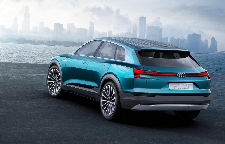 Photo wallpaper Audi, Audi, concept, concert, e-tron, quattro, 2015