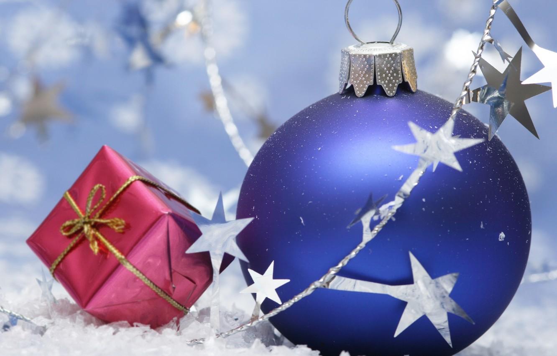 Photo wallpaper mood, balls, new year, Christmas, holidays