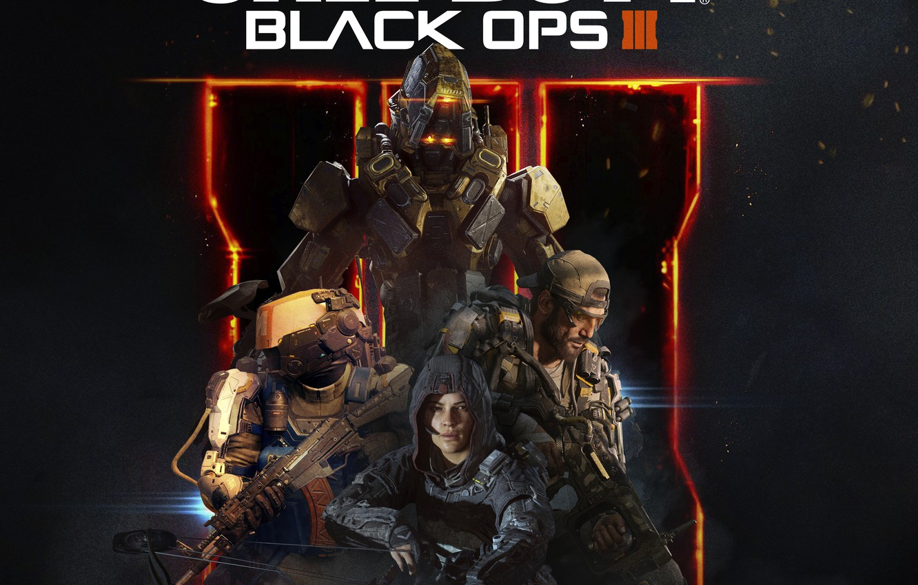 Wallpaper Game Activision Call Of Duty Black Ops Iii