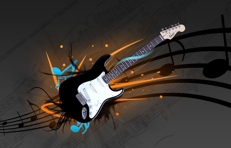 Photo wallpaper music, Guitar, electric guitar, fender, stratocaster, squier, strat