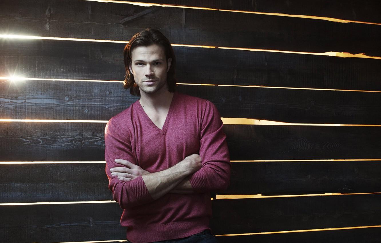 Photo wallpaper actor, character, supernatural, supernatural, Sam Winchester, Over The Padalecki Jared