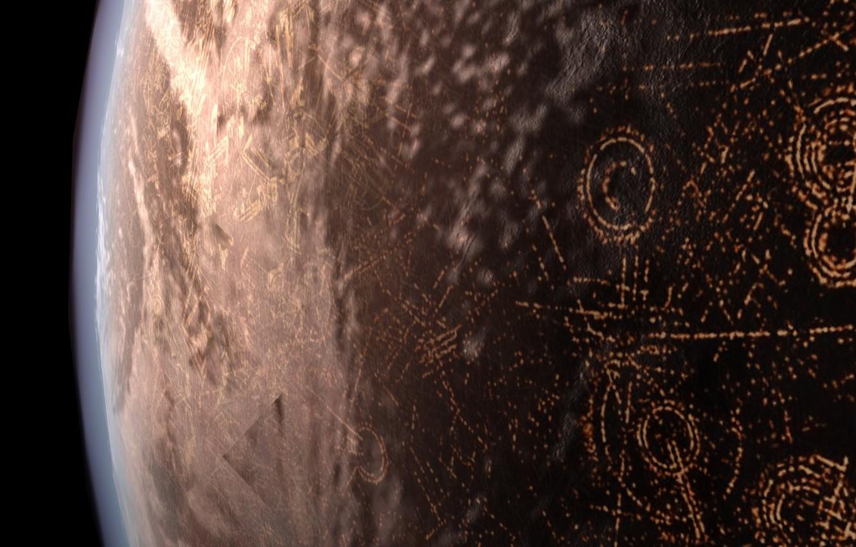Photo wallpaper planet, WARS, STAR, STAR WARS, Cplanet